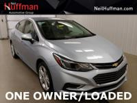 New Price! Arctic Blue Metallic 2017 Chevrolet Cruze