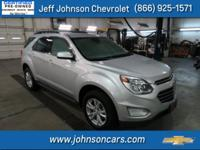 2017 Chevrolet Equinox, Clean Carfax 1 Owner, Certified