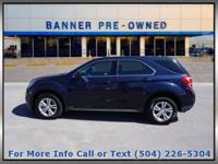 New Price! Velvet 2017 Chevrolet Equinox LS 4D Sport