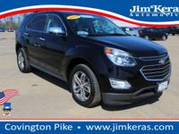 This Certified Pre-Owned 2017 Chevrolet Equinox Premier