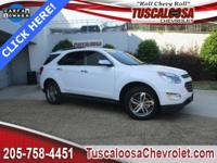 GM Certified. This 2017 Chevrolet Equinox Premier in
