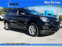 Recent Arrival! This 2017 Chevrolet Equinox LS in Black