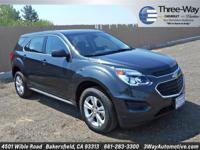Options:  2017 Chevrolet Equinox Ls|Gray|2017 Chevrolet