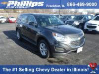 Options:  2017 Chevrolet Equinox Ls|Nightfall Gray