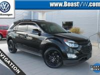 New Price! CARFAX One-Owner. 2017 Chevrolet Equinox LT