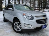2017 Chevrolet Equinox, Silver, One Owner, Accident