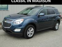 This All Wheel Drive 2017 Chevrolet Equinox was one of