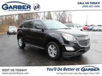 Introducing the 2017 Chevrolet Equinox LT! Featuring a