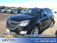 This new Chevrolet Equinox 4DR SUV FWD LT is now for