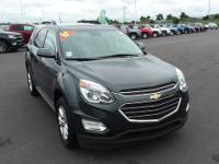 Gray 2017 Chevrolet Equinox LT FWD 6-Speed Automatic