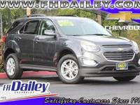 Options:  2017 Chevrolet Equinox Lt|Gray|3.23 Axle