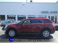 Options:  2017 Chevrolet Equinox Lt W/1Lt|Siren Red