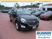 Options:  2017 Chevrolet Equinox Lt|Black|Internet