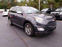 AWD. CARFAX One-Owner. 2017 Chevrolet Equinox Premier