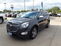 Gray Metallic 2017 Chevrolet Equinox Premier AWD