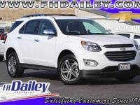 Options:  2017 Chevrolet Equinox Premier|White|6
