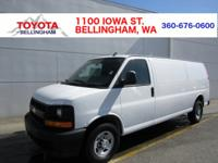 CLEAN CARFAX * EXTENDED CARGO VAN * REMAINDER OF THE