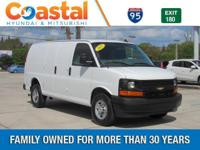 This 2017 Chevrolet Express 2500 Work Van in White