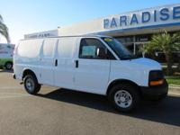 Options:  2017 Chevrolet Express Cargo Van Rwd 2500