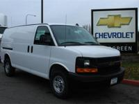 Options:  2017 Chevrolet Express 2500 Work Van|White|