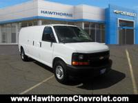 CERTIFIEDCarfax One Owner 2017 Chevrolet Express Cargo