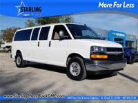 New Price! This 2017 Chevrolet Express 3500 LT in