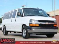 Summit White 2017 Chevrolet Express 3500 LT Passenger