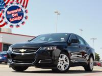 2017 Chevrolet Impala 1LS Black 6-Speed Automatic