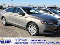 EPA 28 MPG Hwy/19 MPG City! LT trim. Satellite Radio,