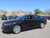 Options:  2017 Chevrolet Impala Lt|Black|New Price!