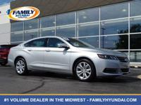 Check out this 2017 Chevrolet Impala LT. Its Automatic