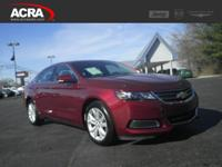 2017 Chevrolet Impala, key features include: a Back-Up