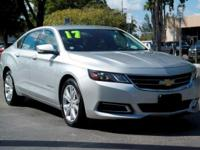 Options:  2017 Chevrolet Impala Lt|Silver Ice