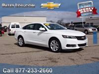 2017 Impala LT - Clean CARFAX One Owner **Infotainment
