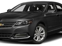 Options:  2017 Chevrolet Impala Lt W/1Lt|Miles:
