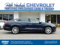 Hendrick Certified, Superb Condition, CARFAX 1-Owner.