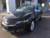 Options:  2017 Chevrolet Impala Premier|Premier 4Dr