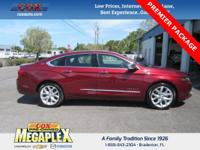 This 2017 Chevrolet Impala Premier in Siren Red