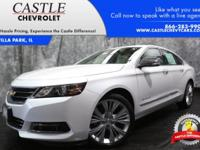 IN TRANSIT The 2017 Chevrolet Impala has something for