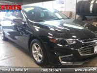 This 2017 Chevrolet Malibu LS w/1LS has less than 4k