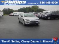 Options:  2017 Chevrolet Malibu Ls W/1Ls Silver Ice