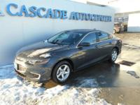 Malibu LS 1LS, 4D Sedan, 1.5L DOHC, 6-Speed Automatic,