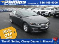 Options:  2017 Chevrolet Malibu Ls W/1Ls|Nightfall Gray