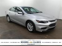 New Price! Silver Ice Metallic 2017 Chevrolet Malibu LT