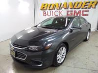 Come see this certified 2017 Chevrolet Malibu LT. Its