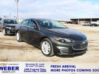 Gray Chevrolet Malibu **ANOTHER WEBER 1-OWNER