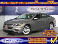 **** JUST IN FOLKS! THIS 2017 CHEVY MALIBU HAS JUST