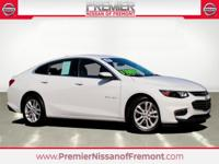 CARFAX One Owner. Clean CARFAX. White 2017 Chevrolet