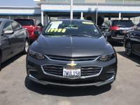 Options:  2017 Chevrolet Malibu Lt|Nightfall Gray