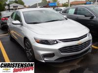 2017+Chevrolet+Malibu+LT+In+Silver+Ice+Metallic.+Turboc